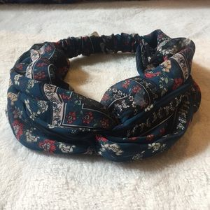 Anthropologie Boho floral headband